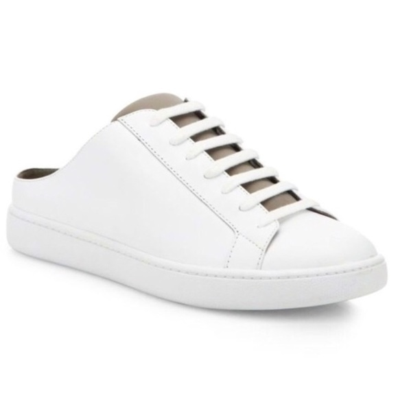 Vince Shoes | White Slip On Sneakers